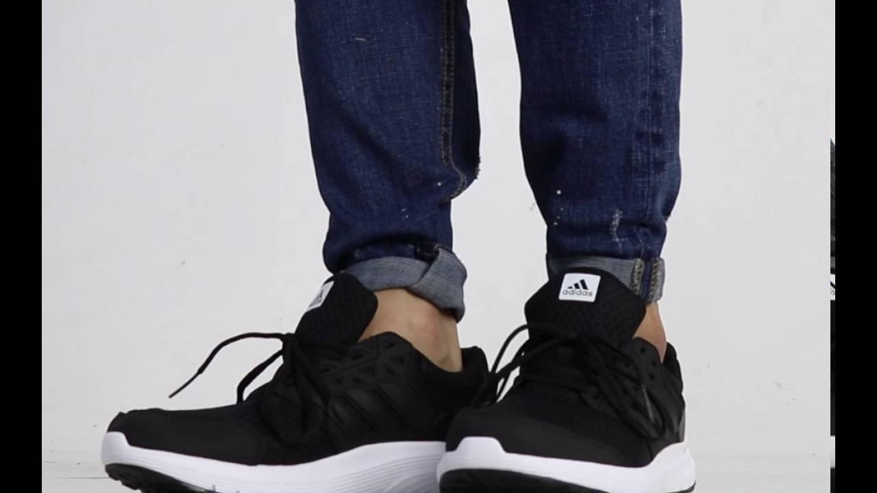 adidas galaxy 3m black