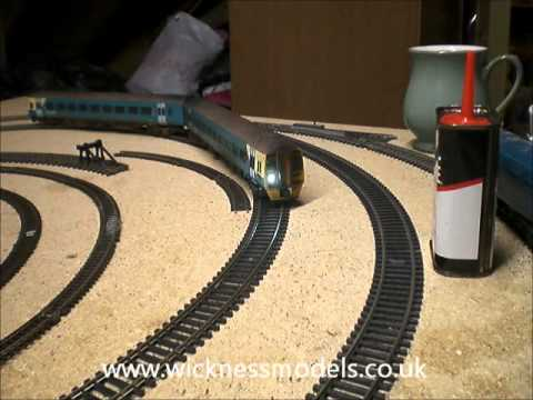 Bachmann 158 DMU DCC Conversion with Express Models Lighting Kit