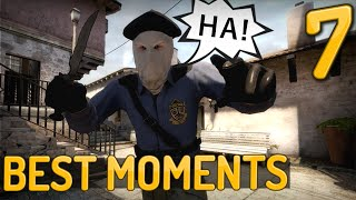 CS:GO - Epic & Funny Moments #7 ft. Hiko, Shroud & Summit1G