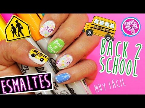 Regreso a la Escuela / nail art