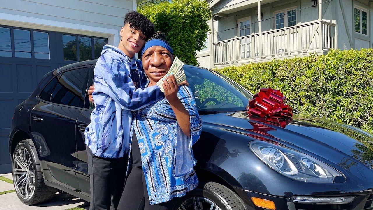 SURPISING MY GRANDMA WITH HER DREAM CAR