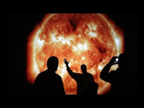The Sun at Night by David Henckel and Dan Wilkinson BBC Stargazing Live