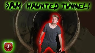 HAUNTED TUNNEL: 3 AM CHALLENGE CHASED OUT