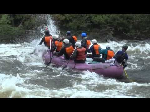 White Water Rafting Kennebec River, Maine
