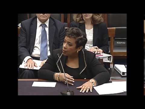 Hearing: Oversight of the United States Department of Justice; EventID=104114