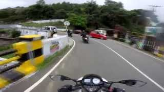 Ooty Bike Ride --- Riding through Clouds .. !
