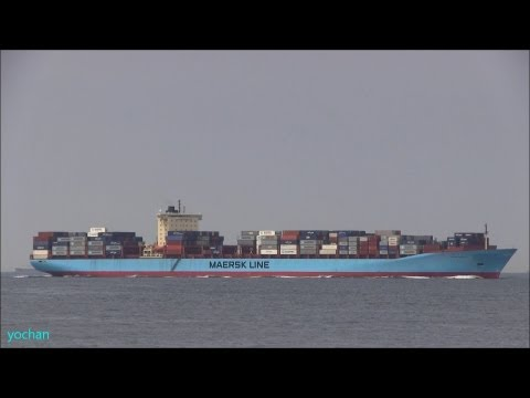 Container ship: ANNA MAERSK (Maersk Line) Flag: Denmark [DK] IMO: 9260421, MMSI: 220199000