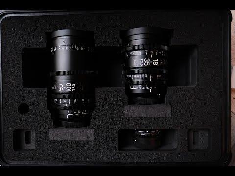 Sigma Cine Lens 18-35mm T2 & 50-100mm T2 Cine Lens - Test Footage