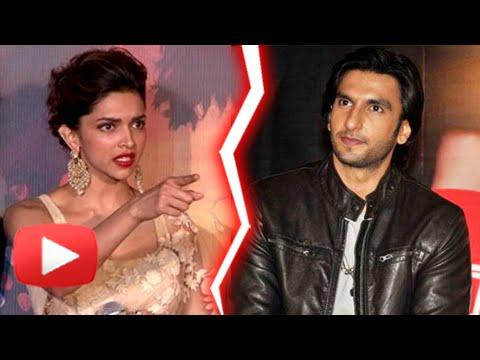 OMG | Ranveer Singh Gets ANGRY On Deepika Padukone - Watch Why