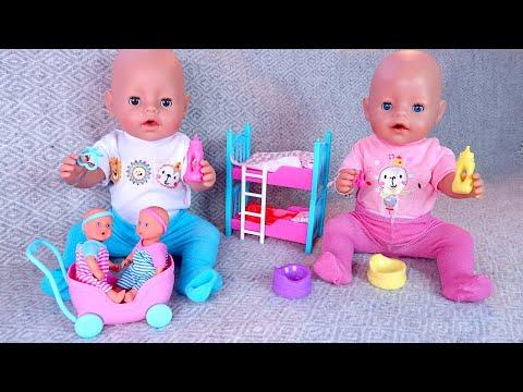 БЕБИ БОН Играют в Маму и Папу Укладывают Спать Пупсиков Как Мама Играла в Куклы 108мама тиви
