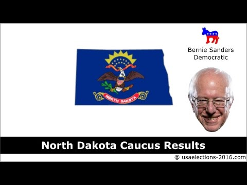 North Dakota Caucus Result 2016 : US Election 2016