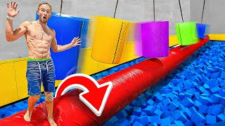 First To Cross Impossible Obstacle Course Wins