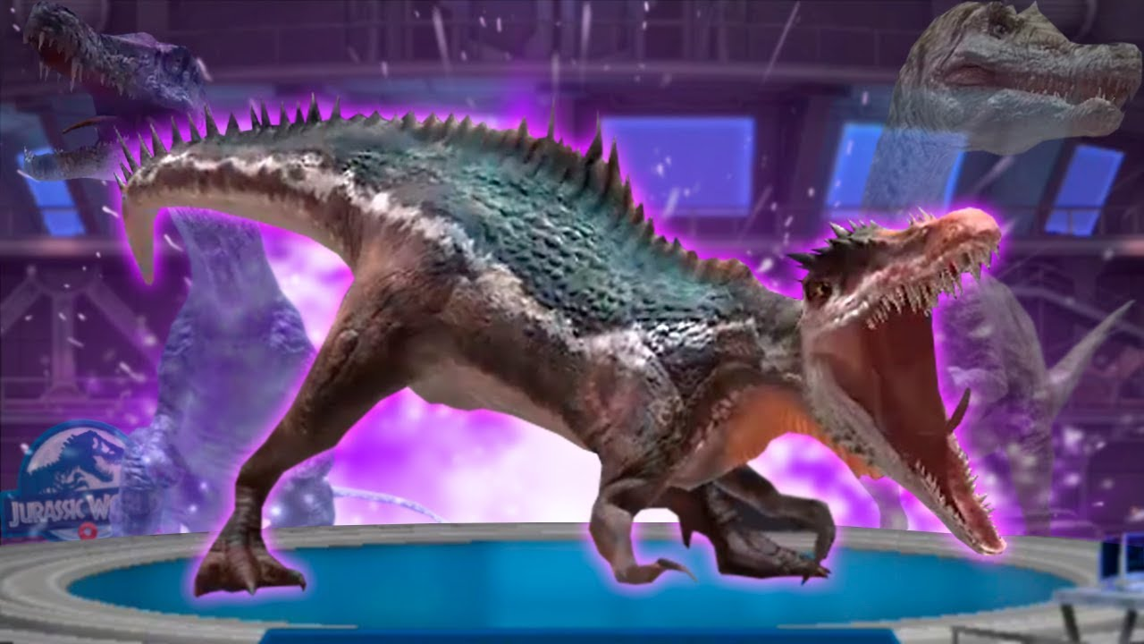 SUCHOTATOR HYBRID UNLOCKED! - Jurassic World: Alive - (Irritator +  Suchomimus) Ep  7 HD