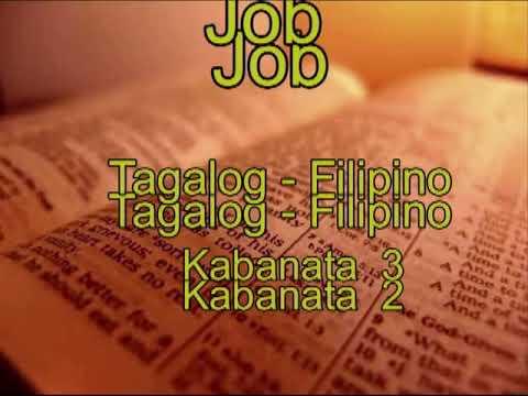 Job - Tagalog Audio Bibliya - (LUMANG TIPAN) Audio Bible Tagalog