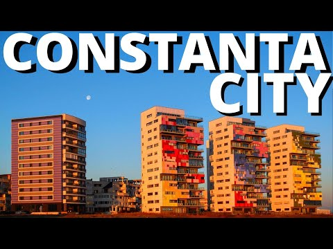 Constanta Romania 2018 City Break Black Sea Beach Holiday Vacation Video