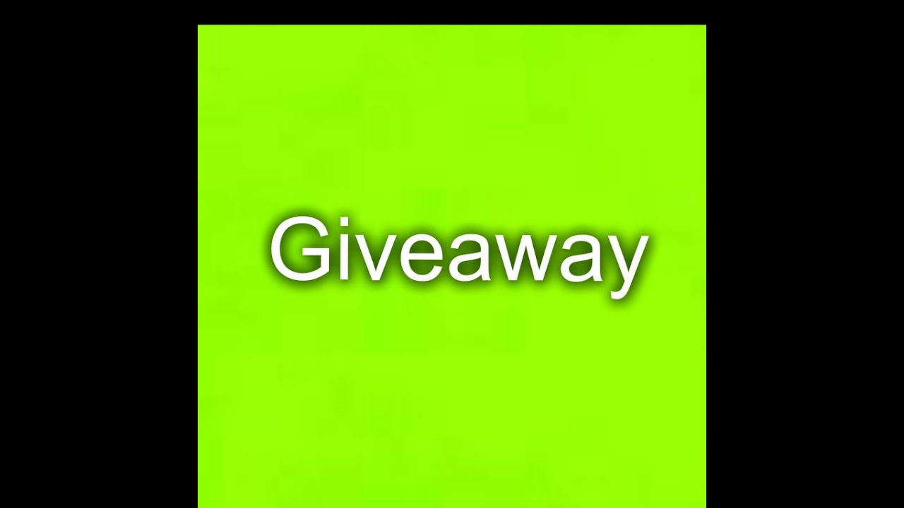 Roblox Giveaways