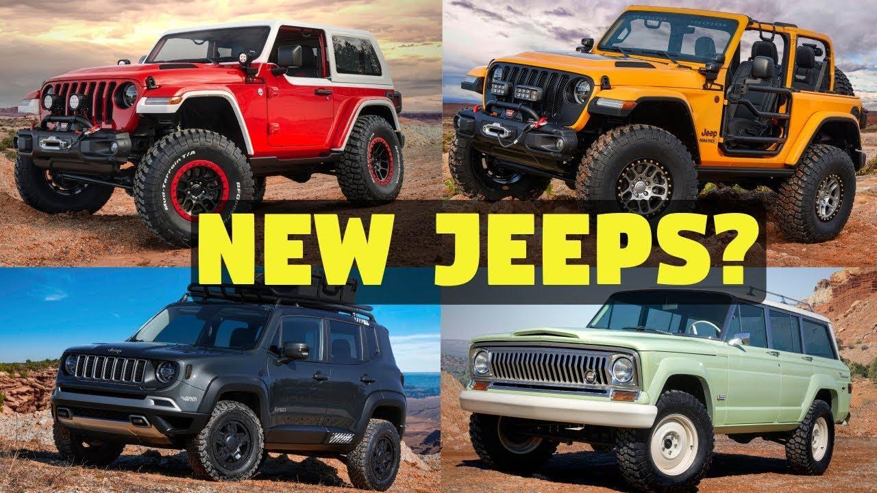 2018 Moab Easter Jeep Safari 7 New Concepts Mopar News