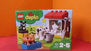 Лего Дупло 10870 Ферма: домашние животные/LEGO Duplo Farm Animals Educational Toy Unboxing