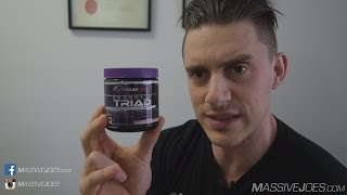 Platinum Labs Anabolic Triad Testosterone Booster Supplement Review - MassiveJoes.com Raw Review