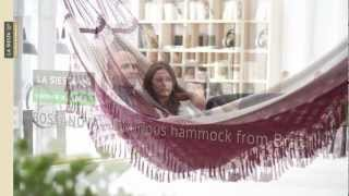 La Siesta Bossanova - Luxurious Hammock From Brazil