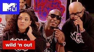 USA Gold Medalist Laurie Hernandez Can't Stop Laughing | Wild 'N Out | #TalkinSpit