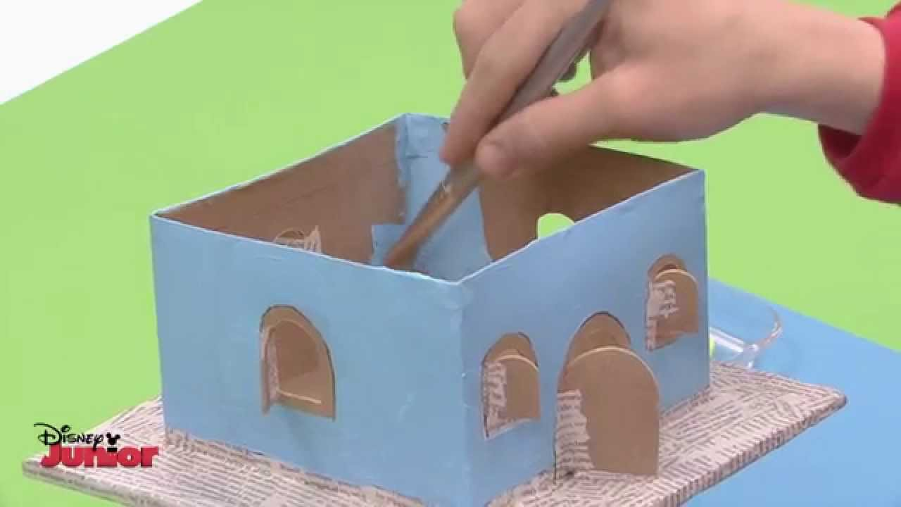 Art attack 39 treehouse 39 make youtube for Materials needed to build a house
