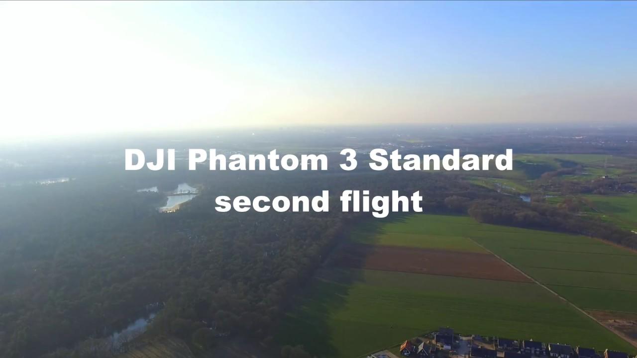 DJI Phantom 3 Standard Second Flight