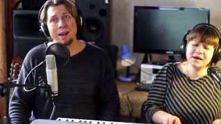 Красивая песня под фортепиано: «Поле убранное» (дуэт)