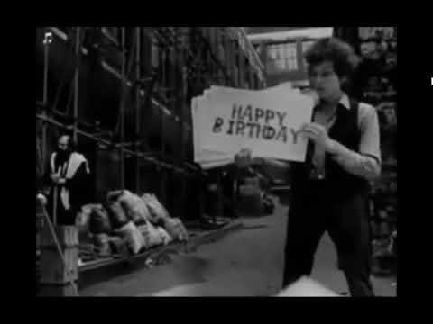 Happy Birthday From Bob Dylan Youtube