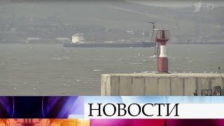 У берегов Крыма спасен экипаж буксира, который потерпел бедствие.