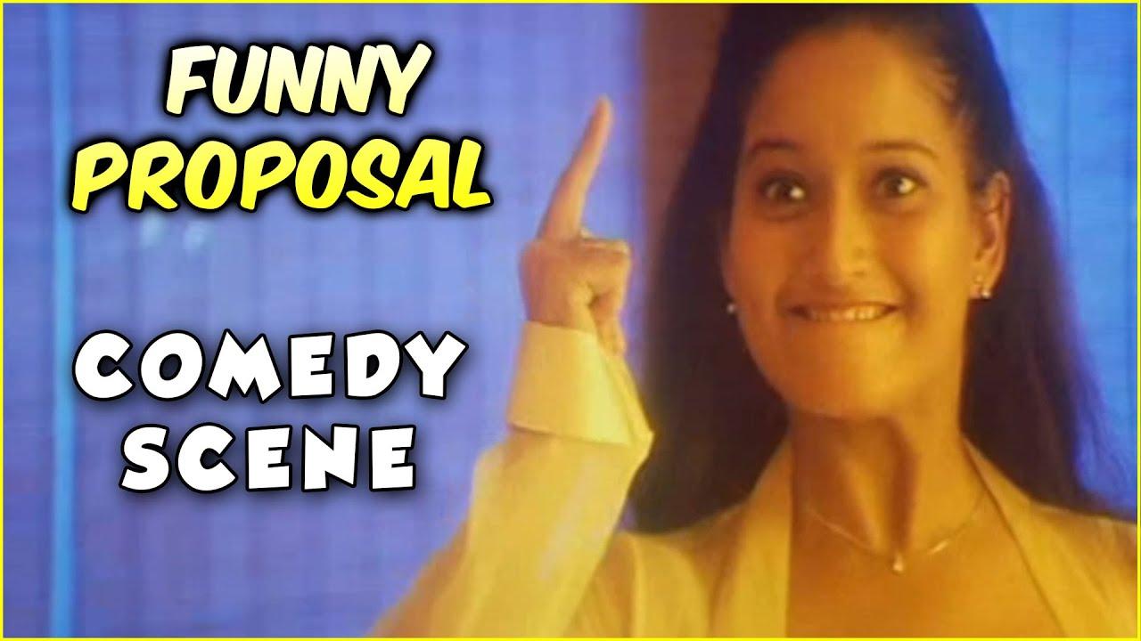 Laila Funny Proposal Comedy | Ali Thanda Vanam | Laila, Prabhudeva | Tamil Comedy Scenes