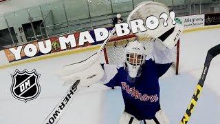YOU MAD BRO!? GoPro Hockey 3 on 3 highlights (WARNING: Explicit language)