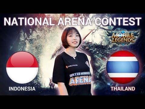 INDONESIA VS THAILAND - National Arena Contest Cast by Kimi Hime - 16/04/2018