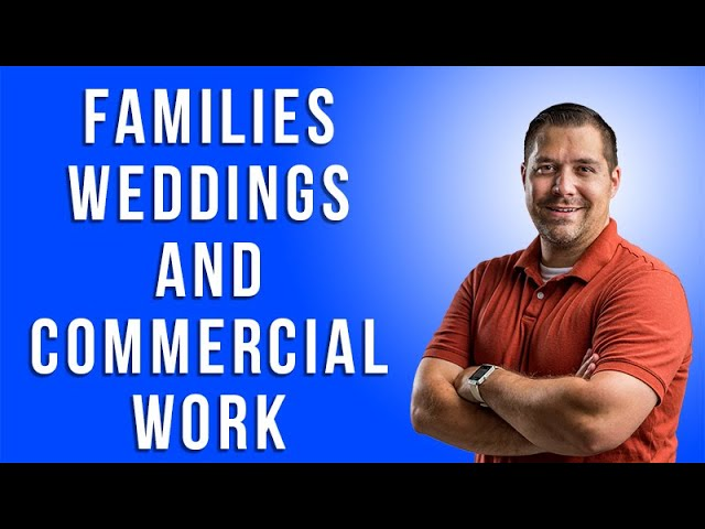 Families, Weddings, and Commercial Work with CJ Duncan