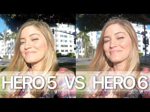 Which is better? GoPro Hero 6 vs Hero 5 Video Test
