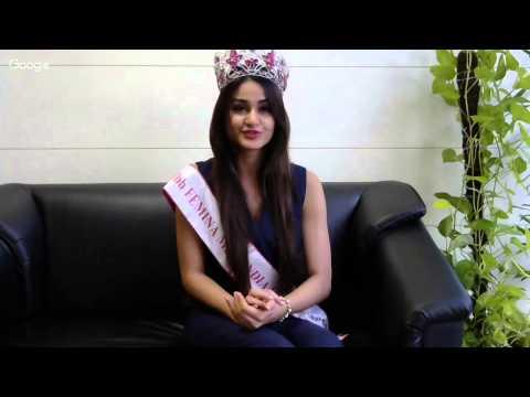Hangout with Miss World India 2015 Aditi Arya