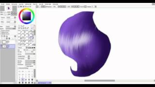 Видео урок: Как рисовать гриву в моем стиле