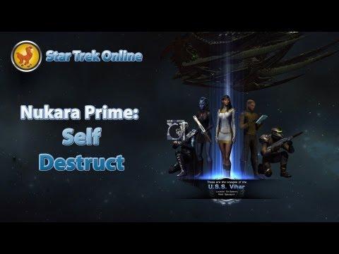 Star Trek auto destruct