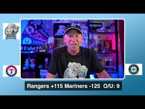 Seattle Mariners vs Texas Rangers Free Pick 8/22/20 MLB Pick and Prediction MLB Tips