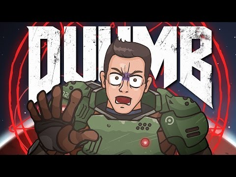 DUUMB  (DOOM 2016 Cartoon Parody)