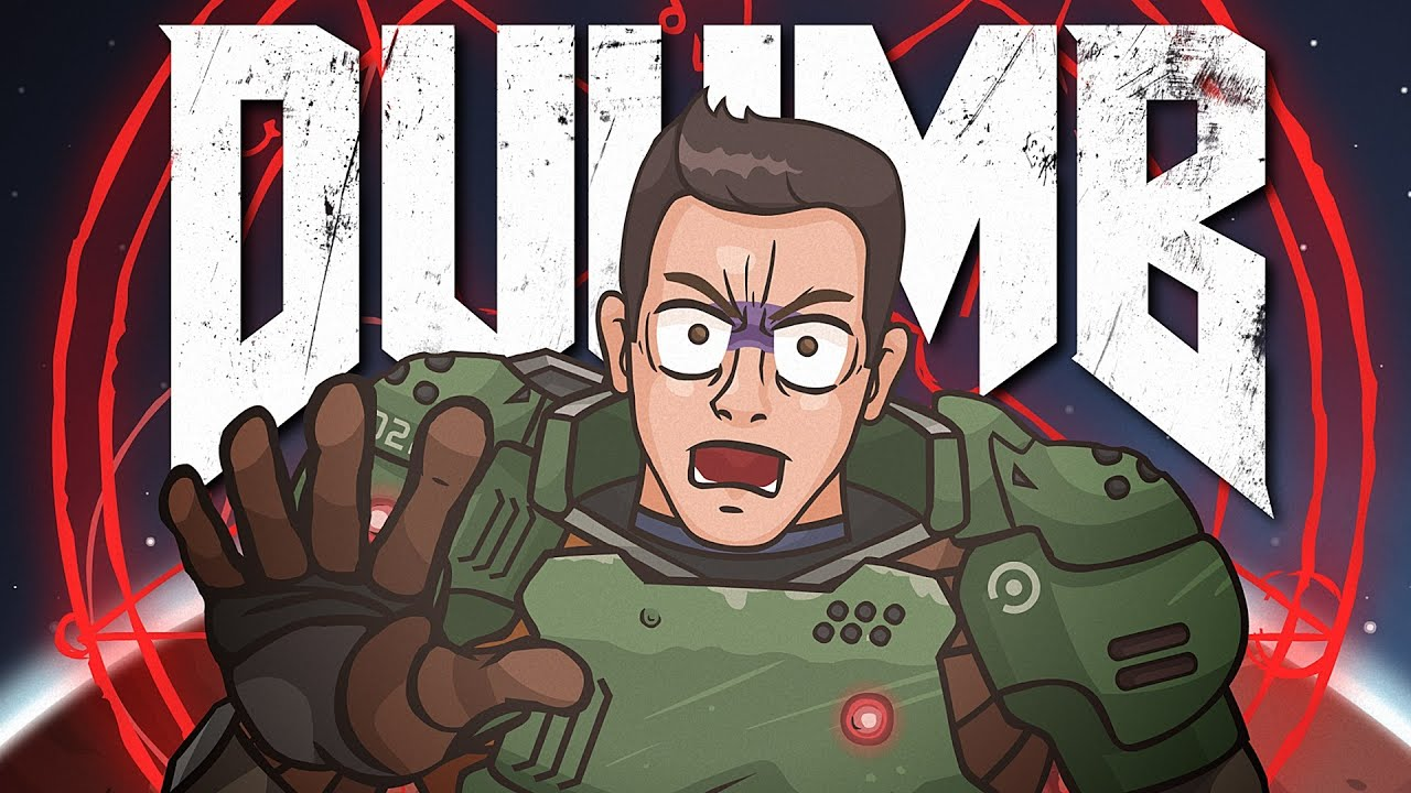 DUUMB  (DOOM 2016/SAGA Cartoon Parody)