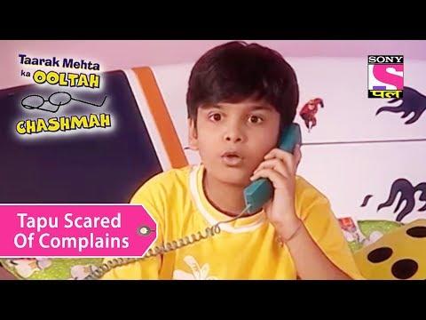 Your Favorite Character   Tapu Scared Of Complains   Taarak Mehta Ka Ooltah Chashmah thumbnail