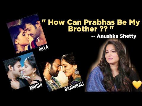 Anushka Shetty gives a clarity on Prabhas   Prabhas and Anushka   Rana Daggubati .
