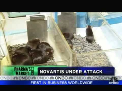 Novartis Under Attack From Anti-vivisectionists