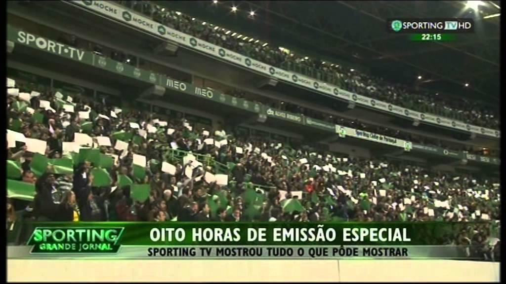Reportagem da SportingTv no derby Sporting-Benfica de 08/02/2015