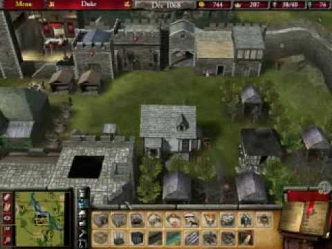 Stronghold 2 (PoW) Playthrough - Mission 8: The Hawk's Nest (part 2)