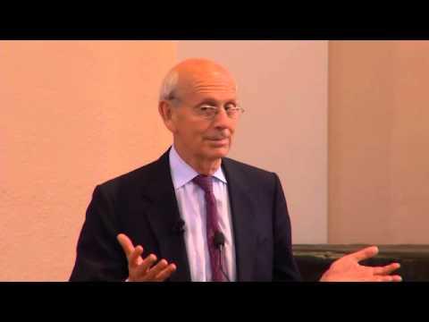 Justice Stephen Breyer at Berkeley Law - Jorde Symposium