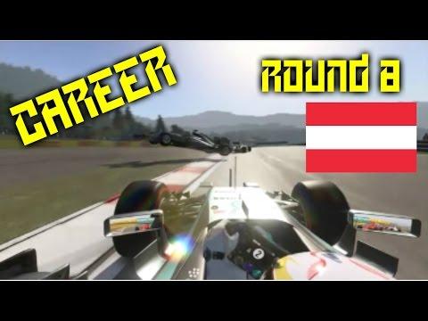 HE WENT TO NARNIA!!! | Round 8: Austria | F1 2015 Career Mode