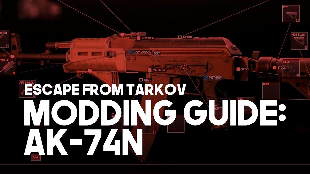 escape from tarkov modding guide