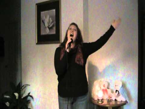 Sara Holcomb sings Never Alone by Lady Antebellum